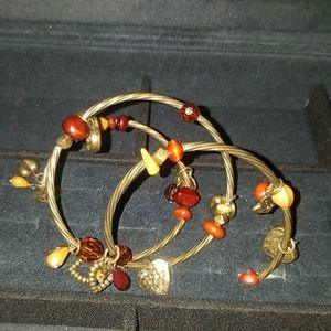 Jewelry - Metal Coil Accent bracelet